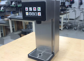prototype of a liquid dispensing machine engineered by Tandem Technologies, LLC